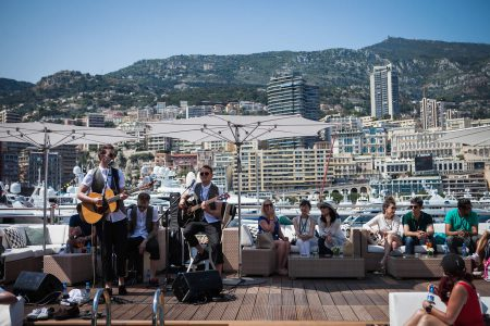 Live Band on a Super Yacht in Monaco