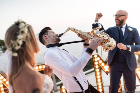 Fedra Brothers Performing at a Wedding