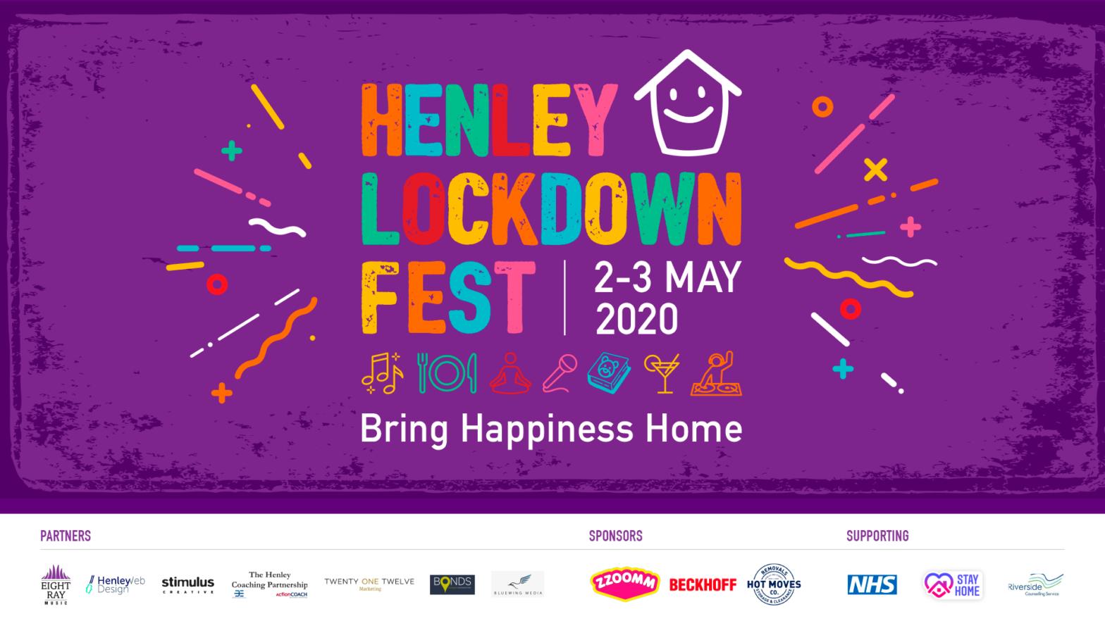 Henley Lockdown Festival Banner